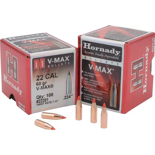 Hornady V-MAX™ .22 60-Grain Bullets - view number 1