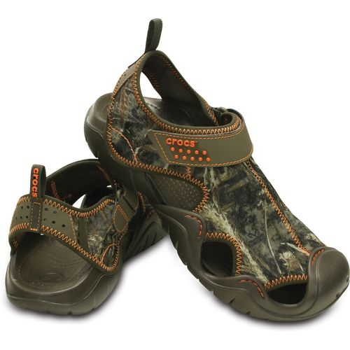 Crocs Men's Swiftwater Realtree Max-5 Sandals - view number 6