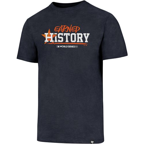 Display product reviews for '47 Men's Astros World Series Champs Earned History T-Shirt - Academy Exclusive