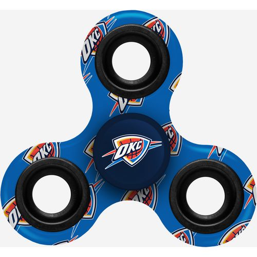 Forever Collectibles Oklahoma City Thunder 3-Way Printed Diztracto Spinnerz Toy