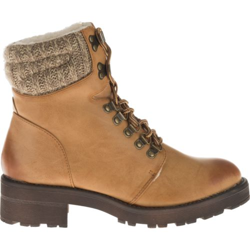 MIA Shoes Women's Maylynn Combat Boots