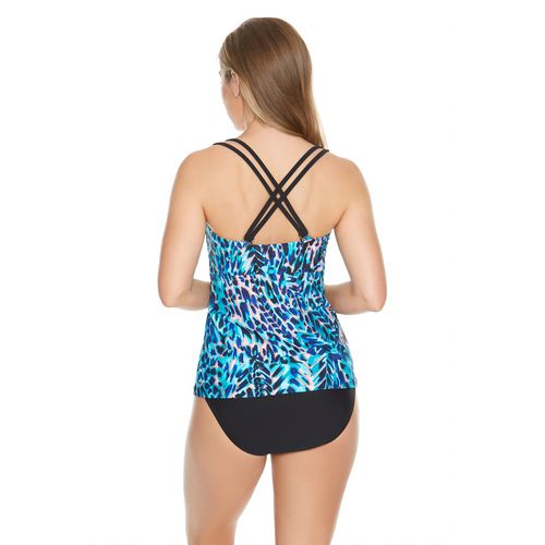 Sweet Escape Women's Primal Instincts Molded Tankini Swim Top - view number 1