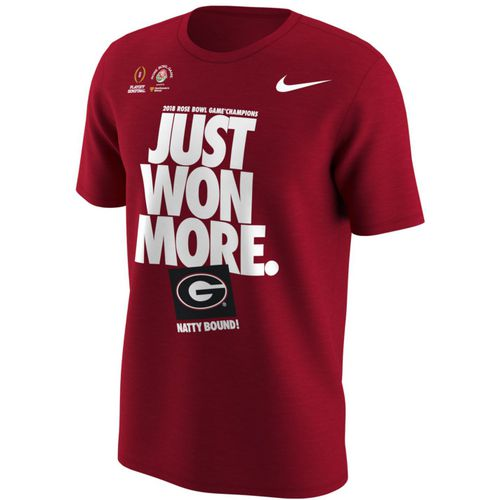 Nike Men's University of Georgia Rose Bowl Champs Short Sleeve T-shirt