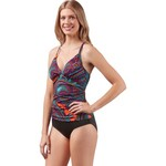 Jantzen Women's Bohemian Nights V-neck 1-Piece Swimsuit - view number 3