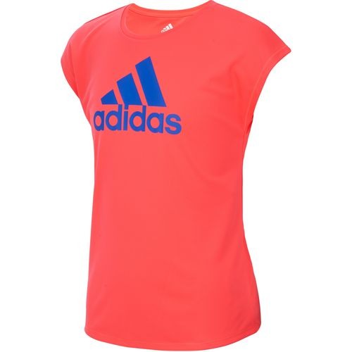 608cacac4 adidas Girls  climalite Graphic Short Sleeve T-shirt