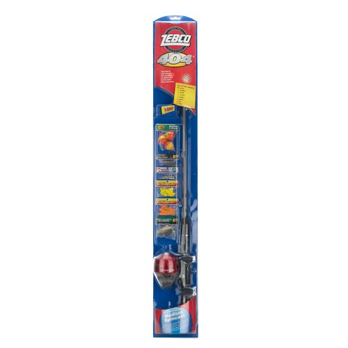 "Display product reviews for Zebco 404 5'6"" Freshwater Rod and Reel Combo"