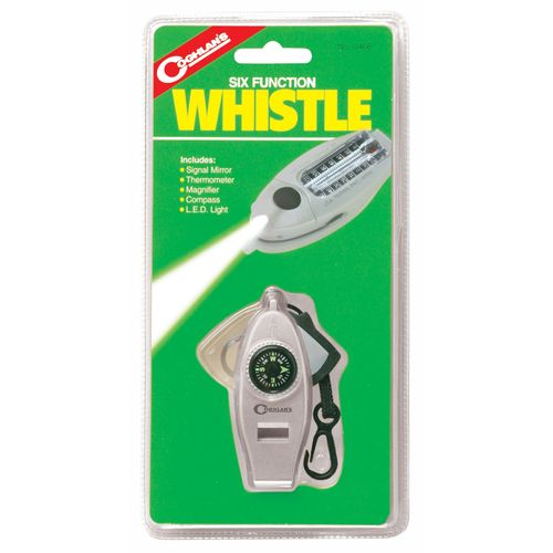 Coghlan's 6-Function Whistle