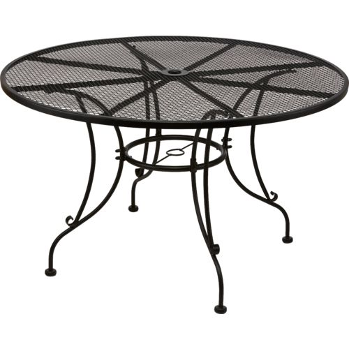 Display product reviews for Mosaic Steel Mesh Round Dining Table