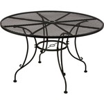 Mosaic Steel Mesh Round Dining Table - view number 1