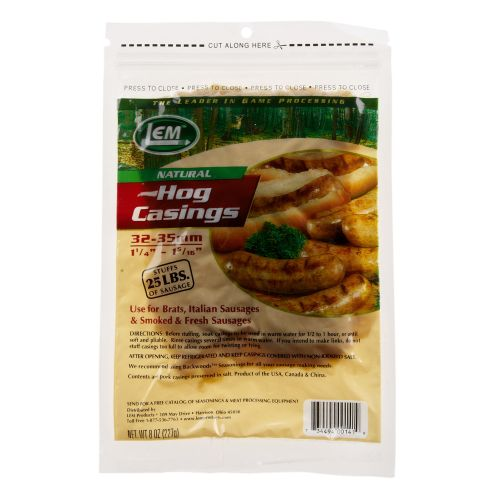 Display product reviews for LEM Natural Hog Casings