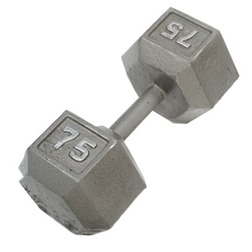 CAP Barbell 75 lb. Solid Hex Dumbbells - view number 1