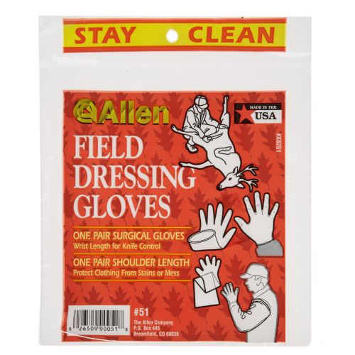 Display product reviews for Allen Company Field Dressing Gloves