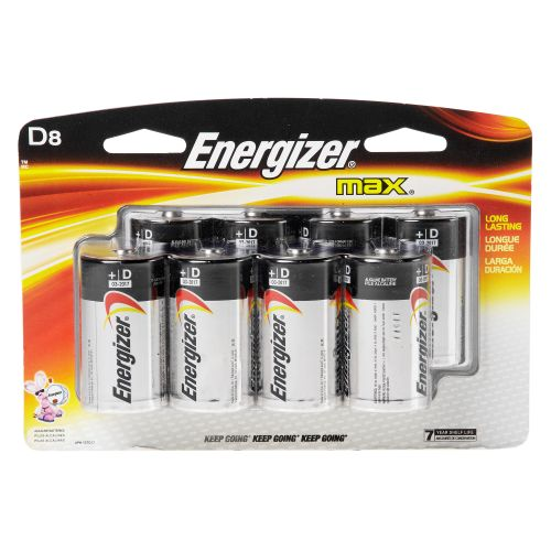 Display product reviews for Energizer® Max Alkaline D Batteries 8-Pack