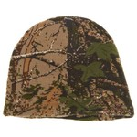 QuietWear Men's Digital Knit Camo Beanie