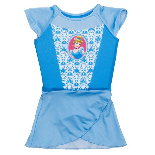 SwimWays Girls' Disney Princess Deluxe Swim Shorty Set