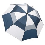 Golfmate® 5.6' Blue and White Umbrella