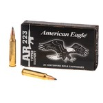 American Eagle® .223 Remington 50-Grain Gray-Tipped Centerfire Rifle Varmint Ammunition