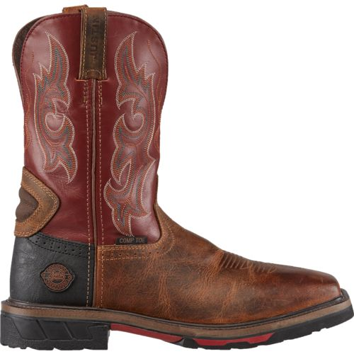 Display product reviews for Justin Men's Original Hybrid Work Boots