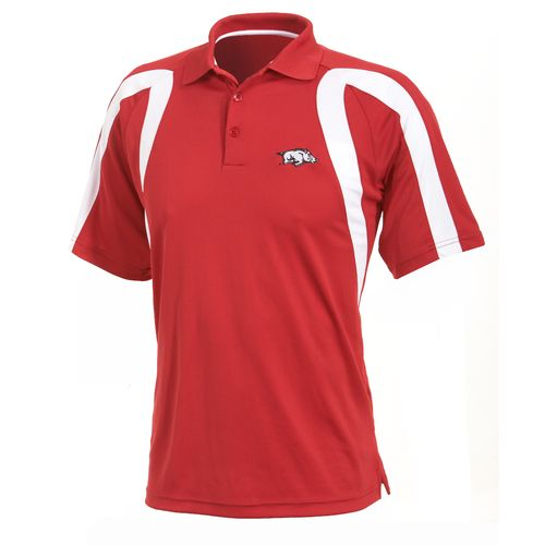 Antigua Men's University of Arkansas Point Polo