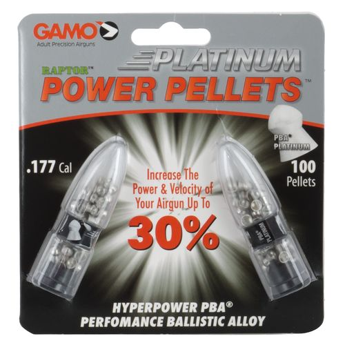 Display product reviews for Gamo PBA Platinum .177 4.7-Grain Airgun Pellets