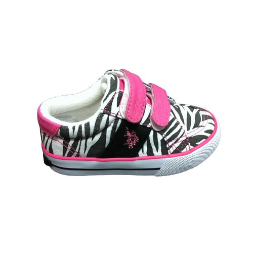U.S. Polo Toddler Girls' 2-Kimba Shoes