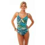 Miraclesuit Women's Trimshaper Ready to Pounce Kerri 1-Piece Swimsuit