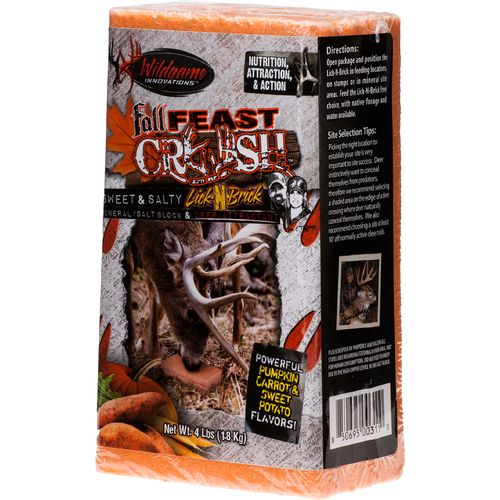 Wildgame Innovations Fall Feast Crush 4 lb. Mineral