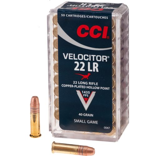 Display product reviews for CCI® Velocitor .22 LR 40-Grain Rimfire Ammunition