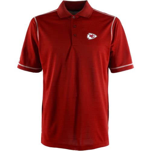Antigua Men's Kansas City Chiefs Icon Polo Shirt
