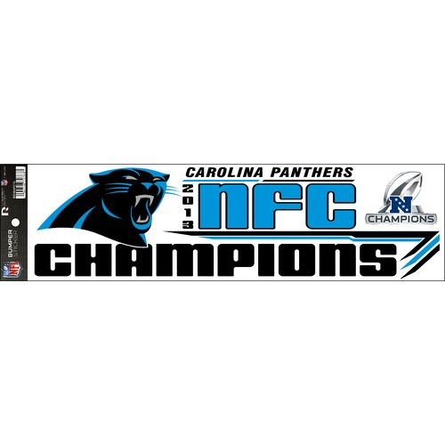 NFL Carolina Panthers 2014 Division Champions Bumper Sticker