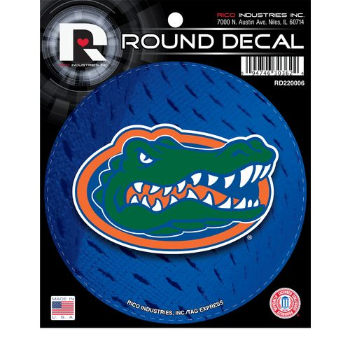 Image for Tag Express University of Florida Round Decal from Academy