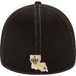 New Era Men's New Orleans Saints 39THIRTY Neo Cap - view number 4