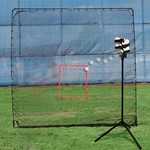 Heater Sports Scorpion Portable Pitching Machine and KingKong 7' x 9' Net - view number 1