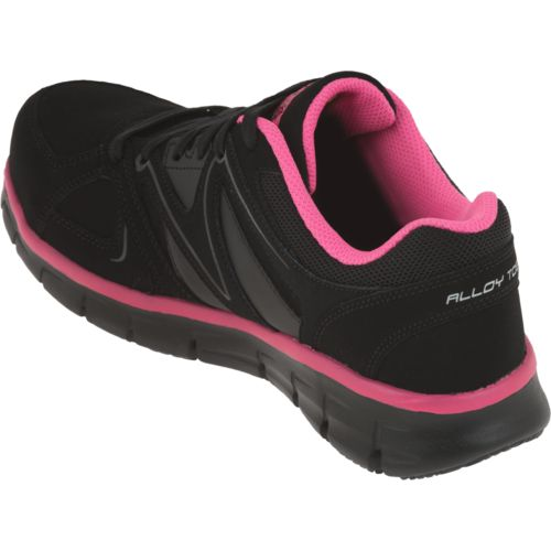 SKECHERS Womenu0026#39;s Synergy Sandlot Safety-Toe Work Shoes | Academy