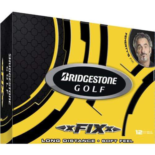Bridgestone Golf xFixx Golf Balls 12-Pack