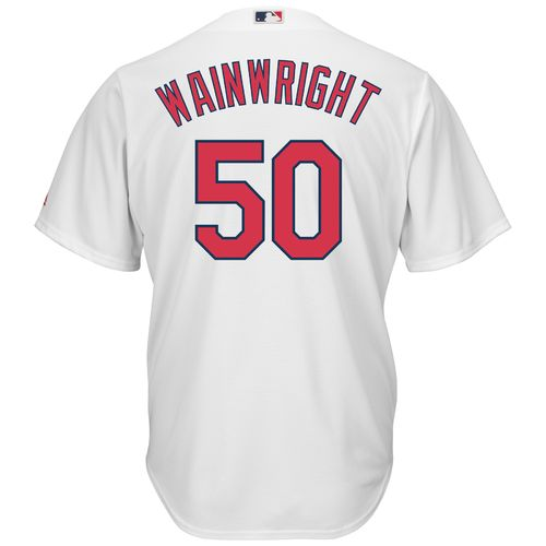Majestic Men's St. Louis Cardinals Adam Wainwright #50 Cool Base® Replica Jersey