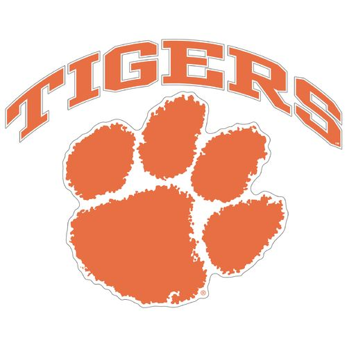 "Stockdale Clemson University 8"" x 8"" Vinyl Die-Cut"
