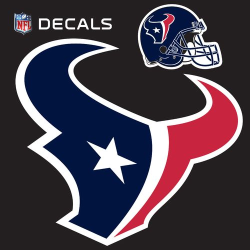 Stockdale Houston Texans 12' x 12' Repositionable Logo/Bonus Decal