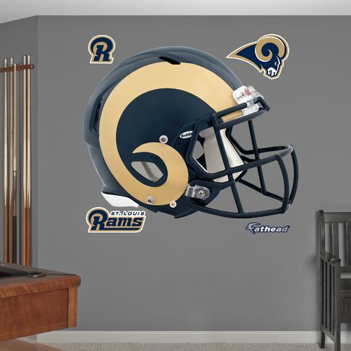 Fathead St. Louis Rams Helmet and Team Decals 5-Pack