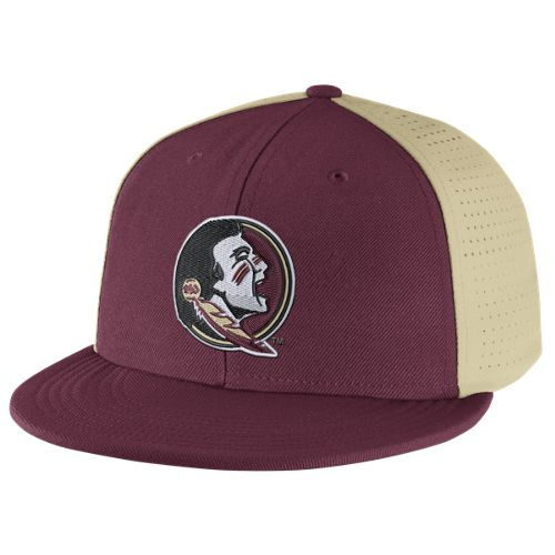 Nike™ Men's Florida State University Players True Swoosh Flex Cap