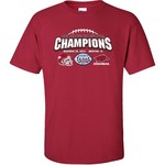 Bayou Apparel Kids' University of Arkansas Texas Bowl Champions T-shirt