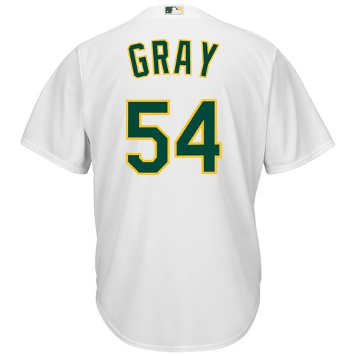 Majestic Men's Oakland Athletics Sonny Gray #54 Cool Base Replica Home Jersey