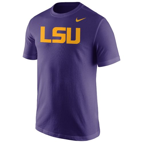 Nike Men's Louisiana State University Wordmark T-shirt
