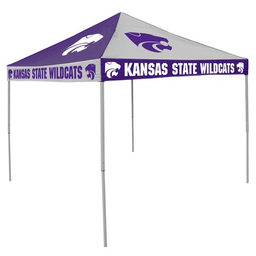 Logo Kansas State University Straight-Leg 9 ft x 9 ft Checkerboard Tent