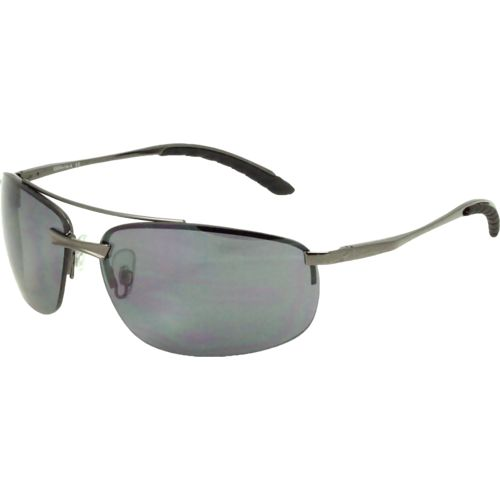 Solaray Men's Semirimless Metal Sunglasses