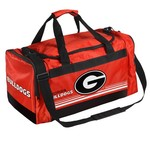 Forever Collectibles™ University of Georgia Medium Striped Core Duffel Bag