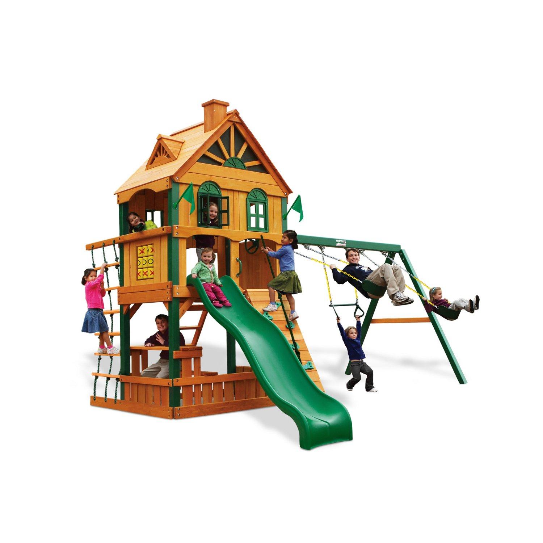 Gorilla Playsets™ Riverview Swing Set