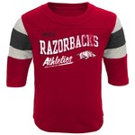 Genuine Stuff Toddlers' University of Arkansas Golden Days Classic Football T-shirt
