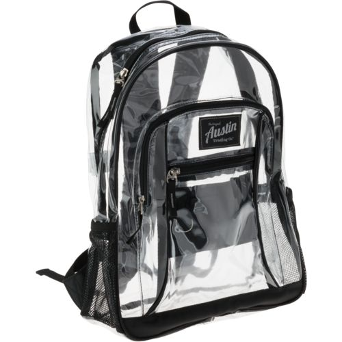 Austin Trading CoTM Clear Backpack
