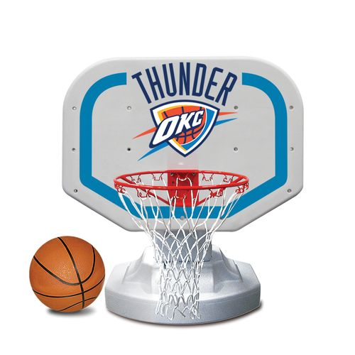 Poolmaster® Oklahoma City Thunder Competition Style Poolside Basketball Game